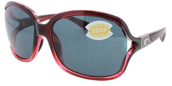 d1c512a159c Costa Del Mar Tower Polarized BG 48 OSCP Sunglasses in Burgundy ...