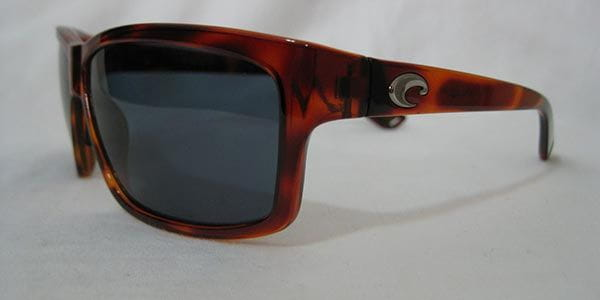 ef6e325a74 Costa Del Mar Cut Polarized UT 51 OSCP Sunglasses in Brown ...