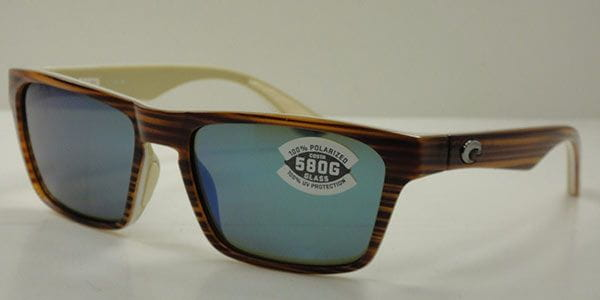 3a97eeacb6 Costa Del Mar Hinano Polarized HNO 108 OBMGLP Sunglasses in Brown ...