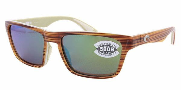 09ceae0eb1 Costa Del Mar Hinano Polarized HNO 108 OGMGLP Sunglasses Brown ...