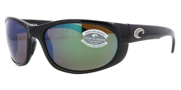 84bbfdaffe6b Costa Del Mar Howler Polarized HO 11 OGMP Sunglasses in Black ...