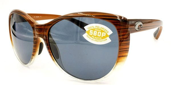 7f1419b6a4b15 Costa Del Mar La Mar Polarized LM 81 OBMP Sunglasses in Brown ...