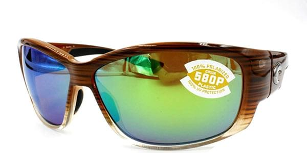 2e2c35fe385dc Costa Del Mar Luke Polarized LK 81 OGMGLP Sunglasses Brown ...