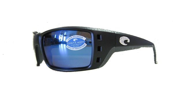a1810adf69e2 Costa Del Mar Permit Polarized PT 11GF OBMGLP Sunglasses in Black ...
