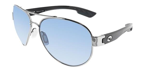 57bf96329f8 Costa Del Mar South Point Polarized SO 21 OBMP Sunglasses Silver ...