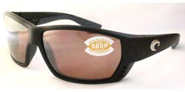 bdf1df3cb53 Costa Del Mar Tuna Alley Polarized TA 11GF OSCP Sunglasses in Black ...