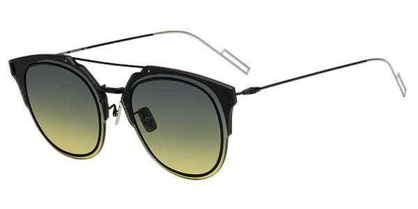 c24da0ffba4 Dior DIOR COMPOSIT 1.F Asian Fit ANS JE Sunglasses Black ...