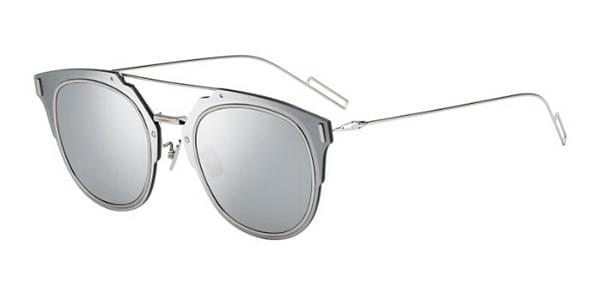 d712ad74b2c Dior DIOR COMPOSIT 1.F Asian Fit 010 0T Sunglasses Silver ...