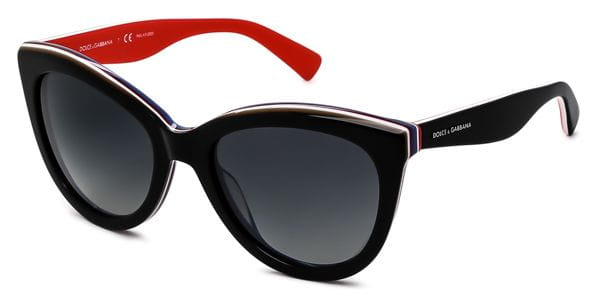 a2f41c2d312 Dolce   Gabbana DG4207 Multicolor Polarized 2764T3 Sunglasses Red ...
