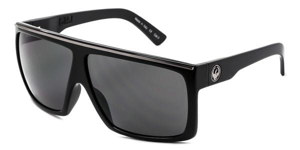 5e3063ee0b Dragon Alliance DR FAME 1 001 Sunglasses Black | VisionDirect Australia