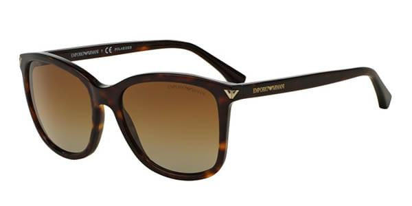 Sonnenbrillen EA4060F Asian Fit Polarized 5026T5