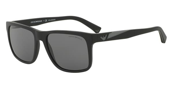 bf0ac120bd39 Emporio Armani EA4071 Polarized 504281 Sunglasses Black ...