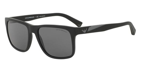 Sonnenbrillen EA4071F Asian Fit Polarized 504281