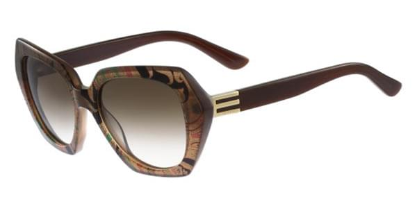 209e109ddec2 Etro ET 608S 243 Sunglasses Brown | SmartBuyGlasses UK
