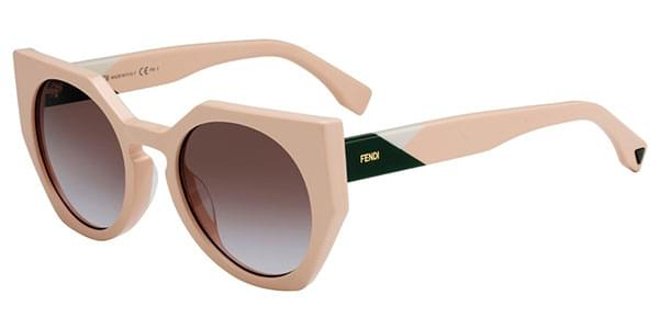bac5afd734 Fendi FF 0151/S FACETS 35J/QR Sunglasses in Pink | SmartBuyGlasses USA