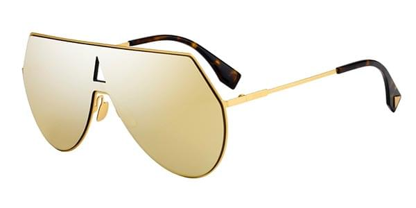 8aa40b1f92 Fendi FF 0193 S EYESHINE 001 K1 Sunglasses Gold