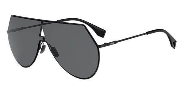 dfef1508d6 Fendi FF 0193 S EYESHINE 807 IR Sunglasses Black