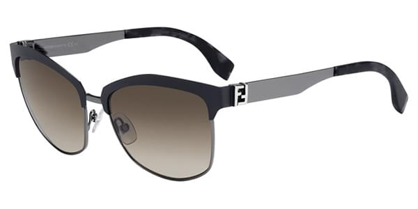 fdfdc87c83 Fendi FF 0051 S THE FENDISTA MNS HA Sunglasses in Grey ...