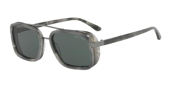 Giorgio Armani AR6063 300371 Sunglasses Grey | SmartBuyGlasses India