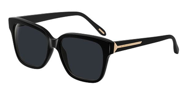 4360495abaf5 Givenchy SGV 823 0700 Sunglasses in Black