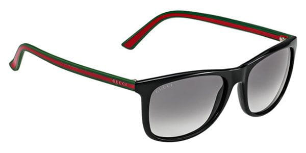 0b3500d7753 Gucci GG 1055/S 51N/VK Sunglasses in Green | SmartBuyGlasses USA