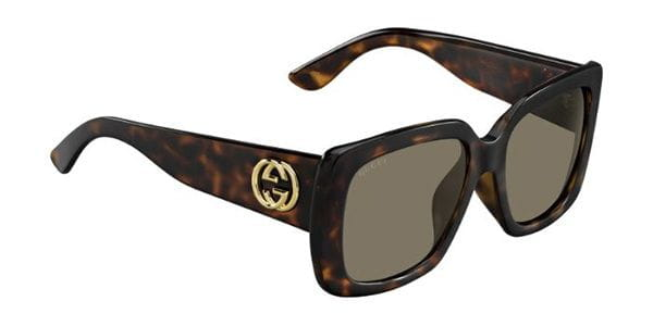 8f126fcb3b6 Gucci GG 3837 F S Asian Fit LSD EJ Sunglasses in Tortoise ...