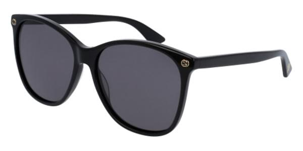 ce02c72999 Gucci GG0024S 001 Sunglasses Black