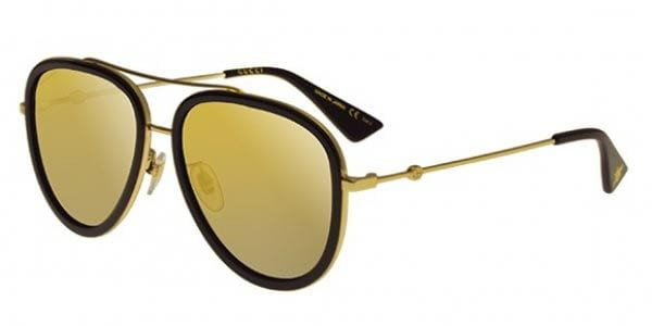 3274a66eba Gucci GG0062S 001 Sunglasses Gold
