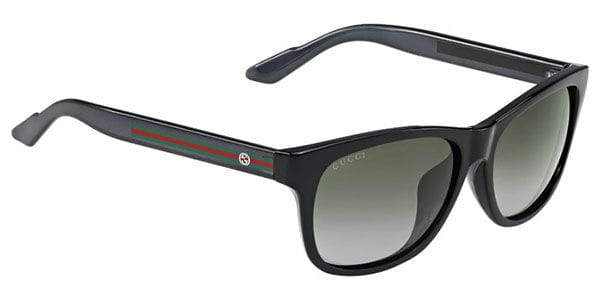 94eff214dee4 Gucci GG 3735 F S Asian Fit IMX PT Sunglasses in Black ...