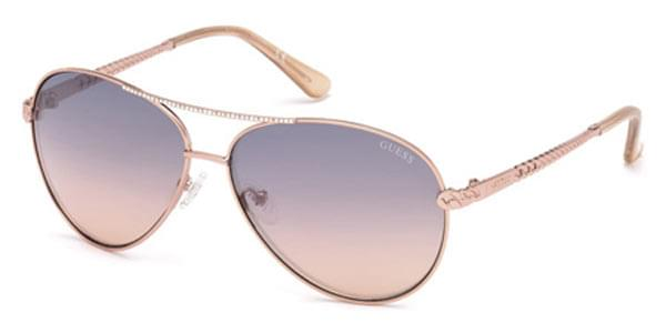 Guess GU 7470-S 28T Sunglasses Pink   SmartBuyGlasses India f52e57fd8299