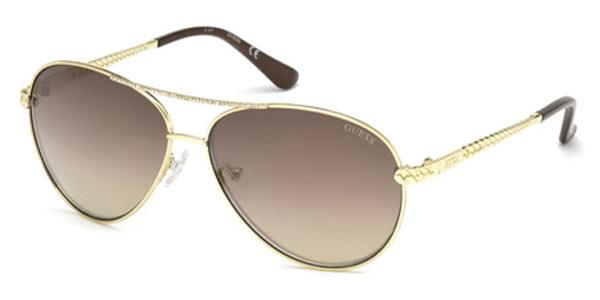 Guess GU 7470-S 32F Sunglasses Gold   SmartBuyGlasses India 3d6a6244a895