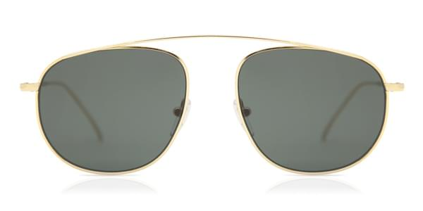 f11a1e0214 Illesteva Santorini Gold With Olive Flat Lenses Sunglasses Gold ...