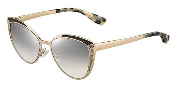 9878743f6d1 Jimmy Choo Domi S PSW IC Sunglasses in Gold