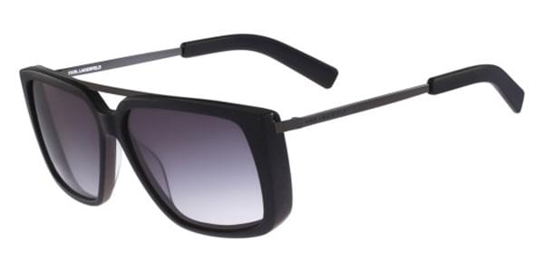 2006d8c0b3 Karl Lagerfeld KL 892 S 001 Sunglasses in Black