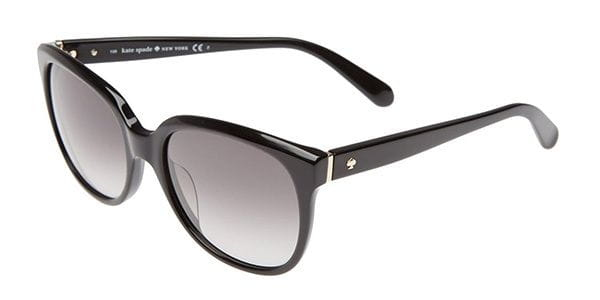 80e9afd3c0e37 Kate Spade Bayleigh S 807 Y7 Sunglasses Black