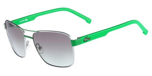 fecb590af8df Lacoste L3105S Kids 315 Sunglasses Green | SmartBuyGlasses India