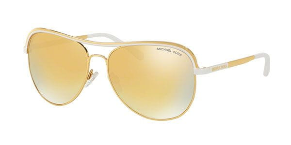 12b21e16db172 Michael Kors MK1012 VIVIANNA I 11127P Sunglasses in White ...