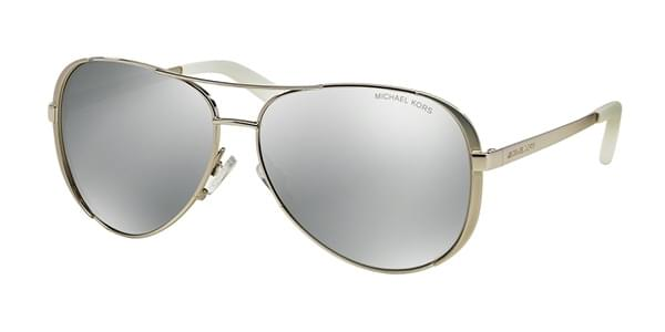 5ecad3328af Michael Kors MK5004 CHELSEA Polarized 1001Z3 Sunglasses in Silver ...