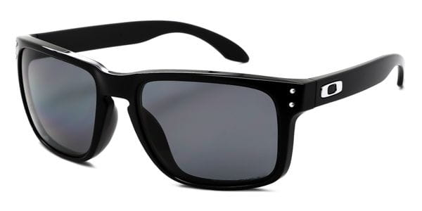 6caf8be2e67 Oakley OO9102 HOLBROOK Polarized 910202 Sunglasses Black ...