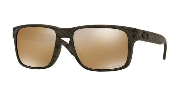 642debcf921 Oakley OO9102 HOLBROOK Polarized 9102A3 Sunglasses Brown ...