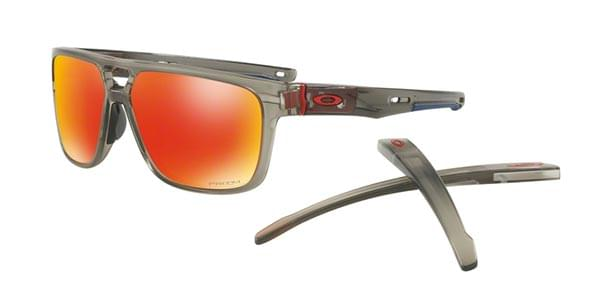 6430e4a2a1d Oakley OO9382 CROSSRANGE PATCH 938205 Sunglasses Grey ...