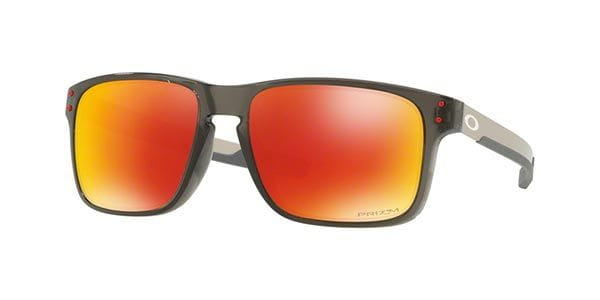 074aaf9f4a Oakley OO9384 HOLBROOK MIX Polarized 938407 Sunglasses Grey ...