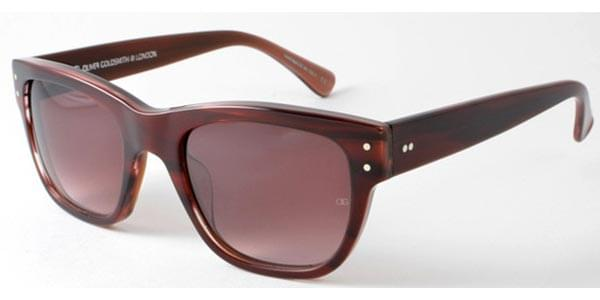 Óculos de Sol Oliver Goldsmith Consul 4   Dark Wood Marrom ... cf4f628102
