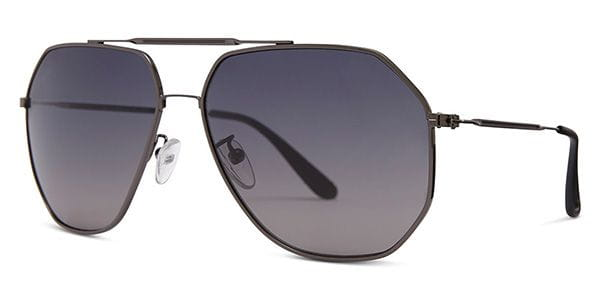 5d85375186cf Oliver Goldsmith Piero Gun Sunglasses Grey | VisionDirect Australia