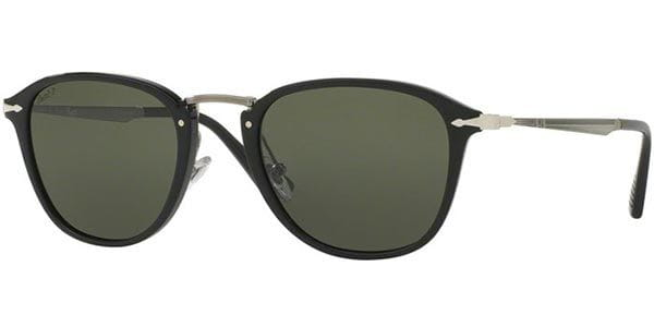 97bd8e617c870 Persol PO3165S CALLIGRAPHER Polarized 95 58 Sunglasses in Black ...