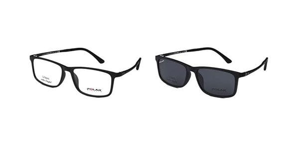938d57798a Polar PL 401 Clip On Polarized 76 Sunglasses in Black ...
