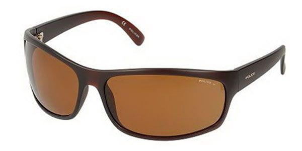 0a939d5f5b Police S1863 SPECTRUM 1 Polarized Z55P Sunglasses in Brown ...