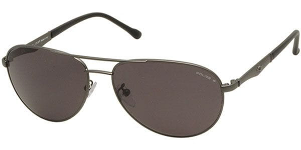 fdfb53ec249 Police S8743 RAZOR 1 Polarized H68P Sunglasses Grey ...