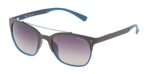 96f26a0a3c Police SPL161 GAME 5 Polarized MB6P Sunglasses Blue ...