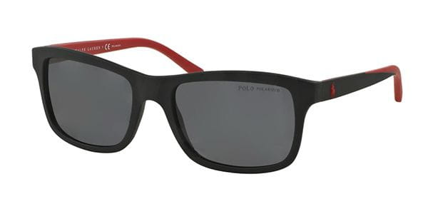 fc9600ab0fd0 Polo Ralph Lauren PH4095 Polarized 550481 Sunglasses in Black ...